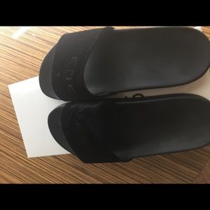 73f35e3265e8 Givenchy Shoes - Givenchy black velvet slides brand new limited